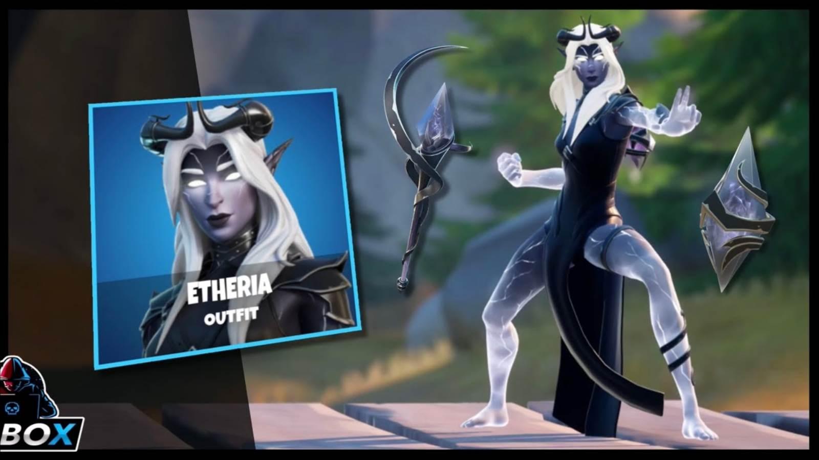 Fortnite Etheria Skin Return