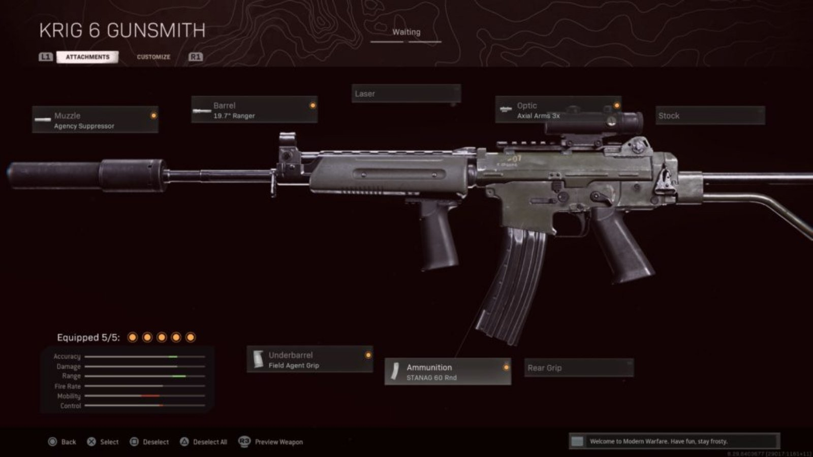 COD Warzone: The Best Krig 6 Warzone Loadout
