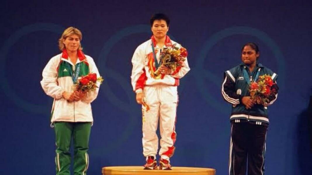 Karnam Malleswari won a medal at the Sydney Olympics