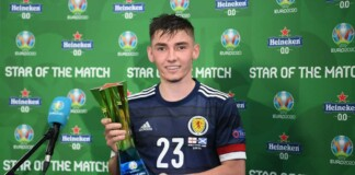 Billy Gilmour would be unavailable for selection for Scotland in their all important Euro 2020 group game against Croatia
