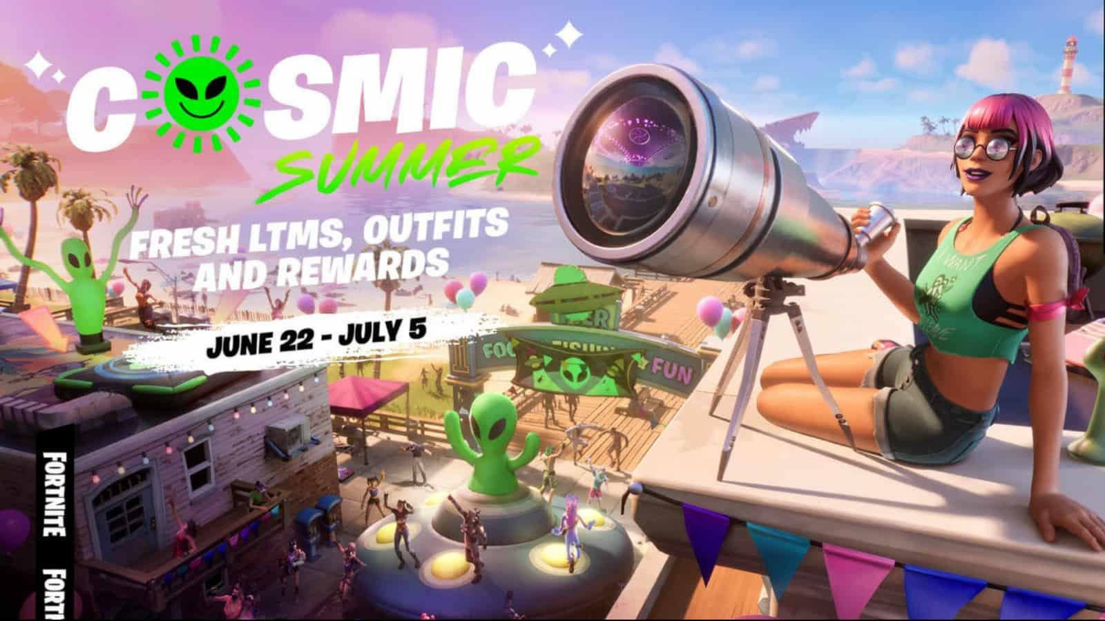 Fortnite Cosmic Summer: Rewards and Details