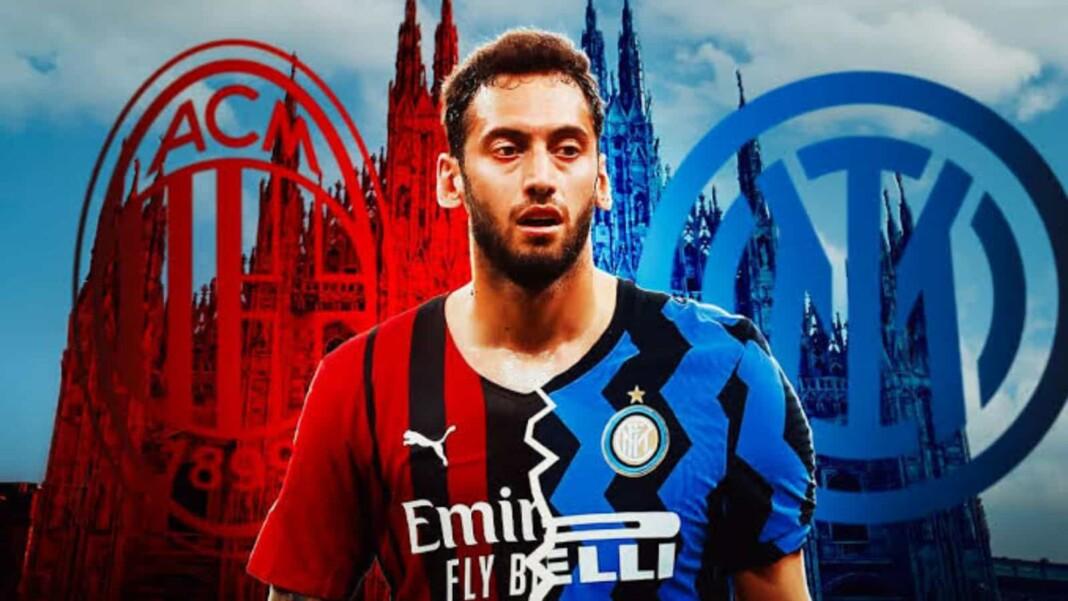 Hakan Calhanoglu joins Inter Milan