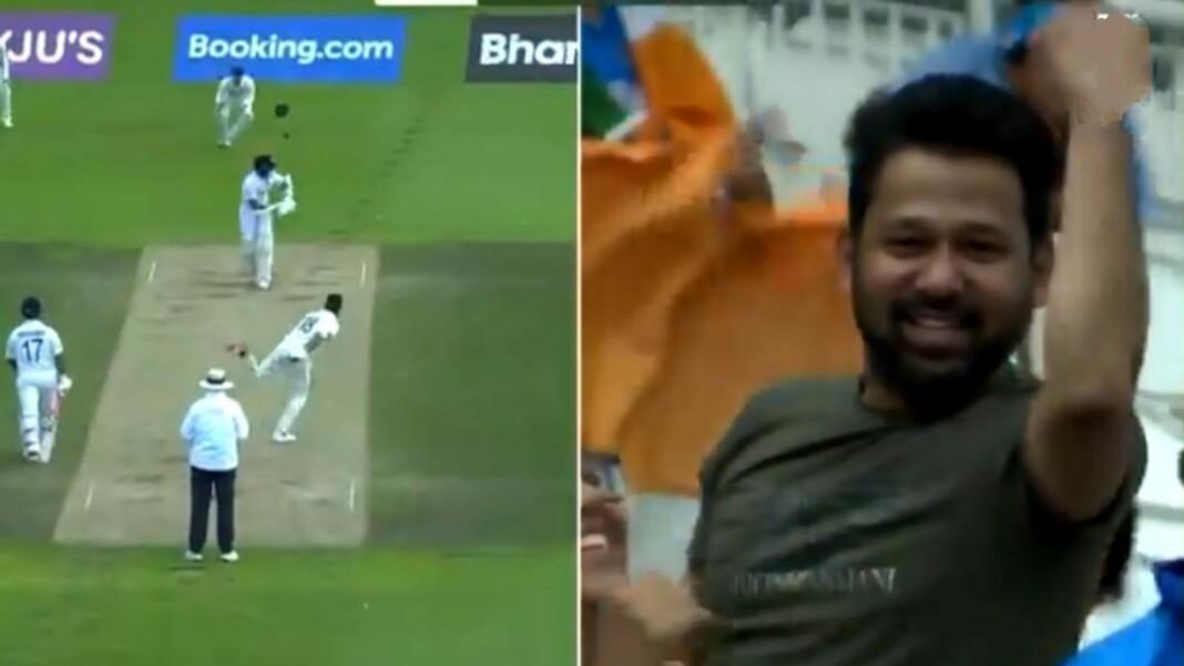 Ajinkya Rahane and Indian fan
