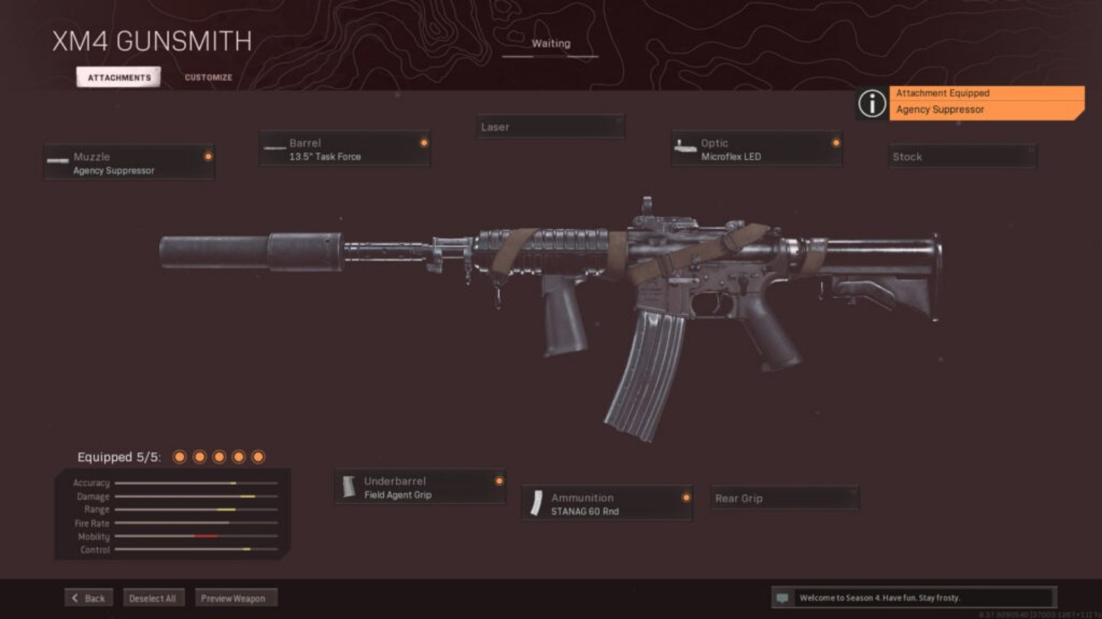 COD Warzone: The Best XM4 Warzone Loadout
