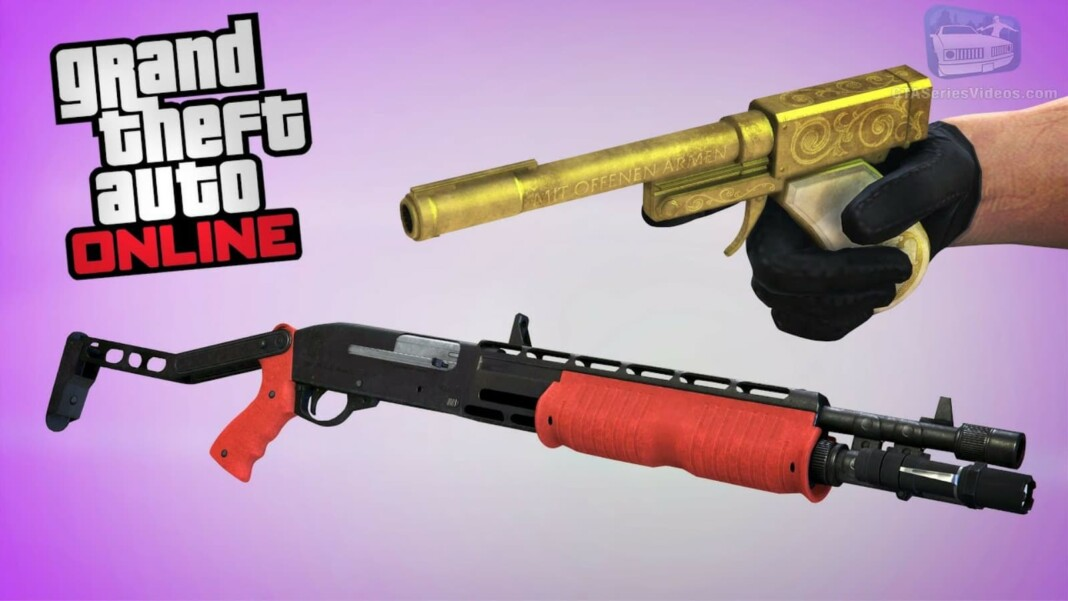 How to get the Perico Pistol and Combat Shotgun in GTA 5