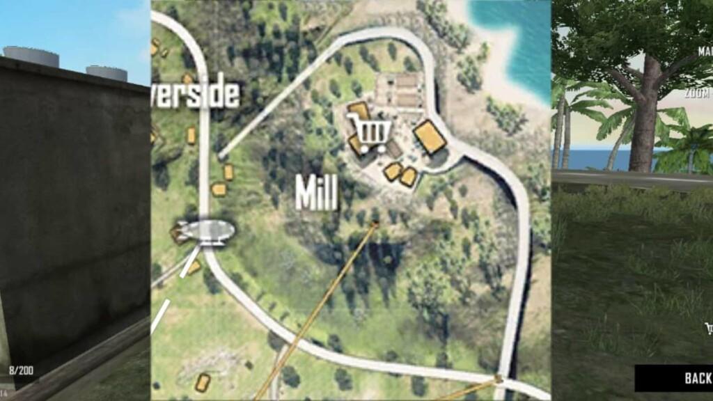 Best locations in free fire