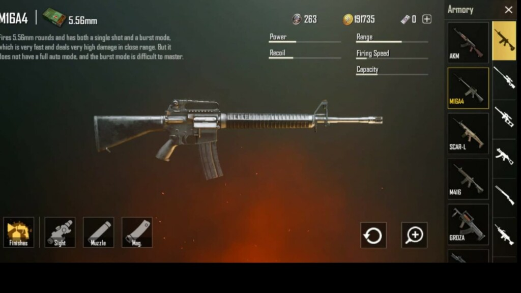 Best guns for 6x scope in Battlegrounds Mobile India (BGMI)