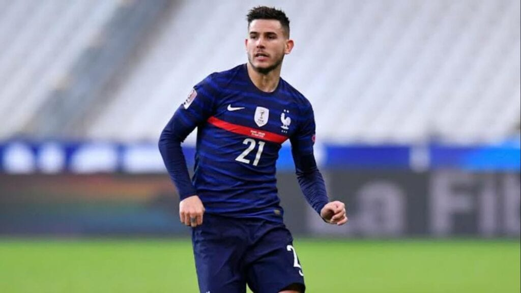 France internationals Lucas Hernandez