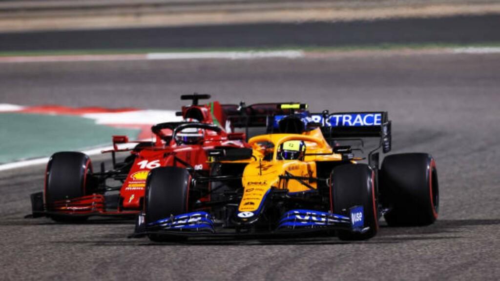McLaren and Ferrari