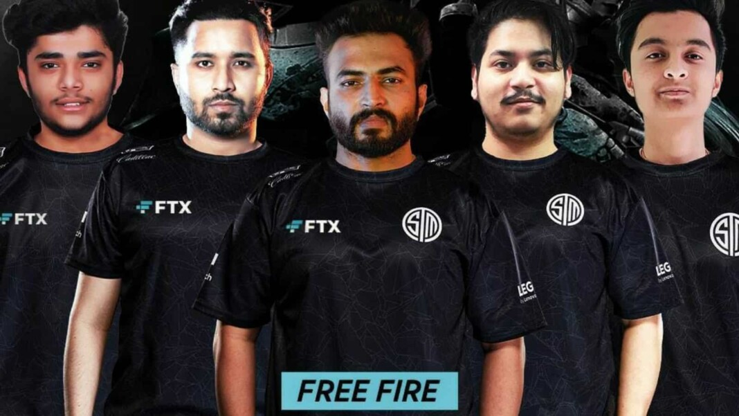 TSM FTX Free fire roster