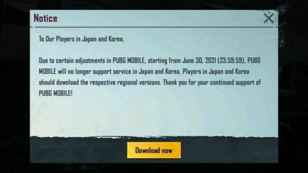 PUBG Mobile Global to get banned in Korea and Japan