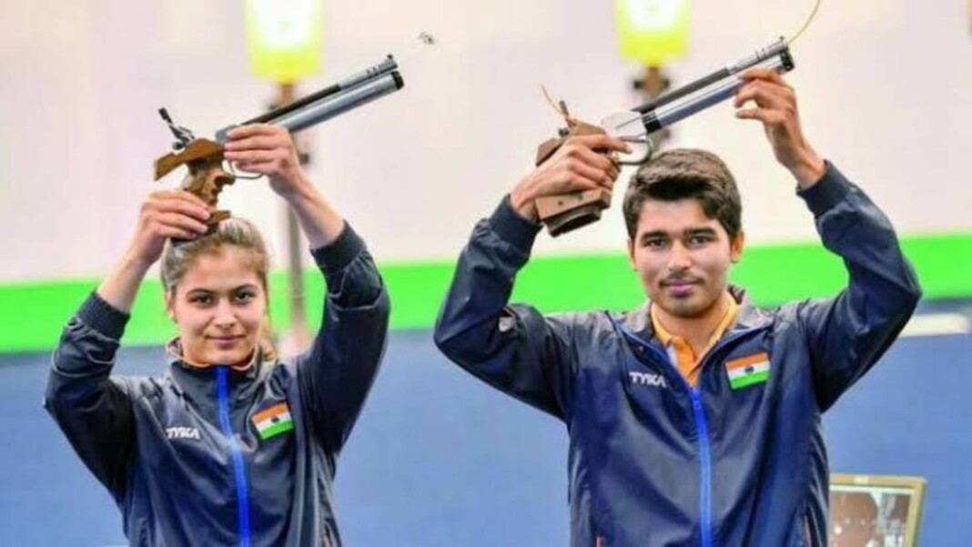Manu Bhaker and Saurabh Chaudhary, Tokyo Olympics 2020 LIVE