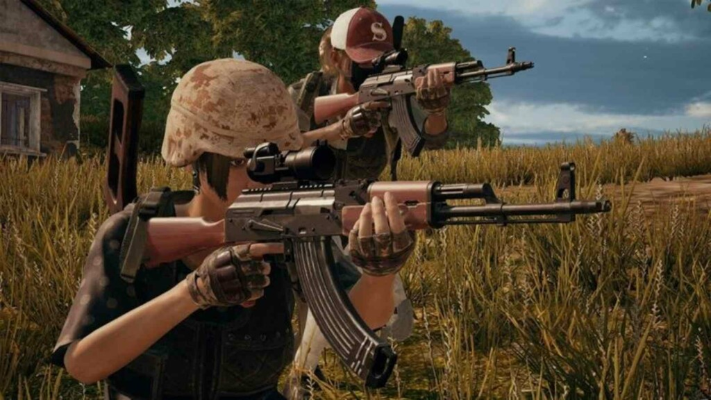 AKM - Best Assault Rifles(ARs) in BGMI