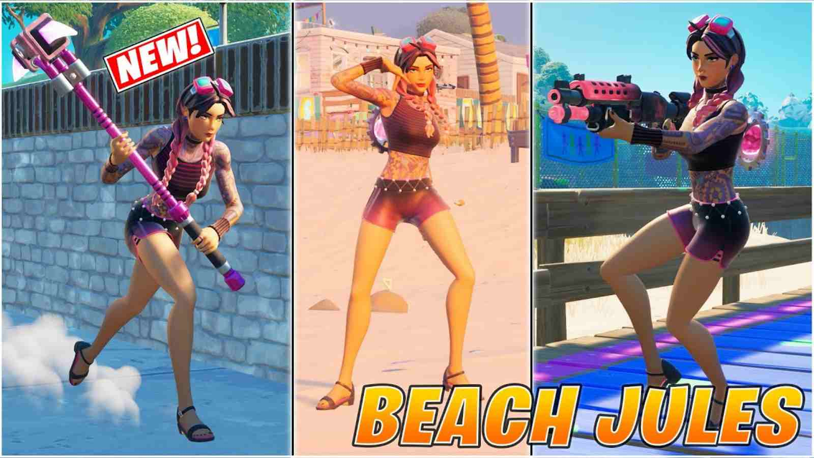New Fortnite Beach Jules Skin in Item Shop: How to Get It