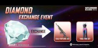 New Diamond Exchange Event in BGMI