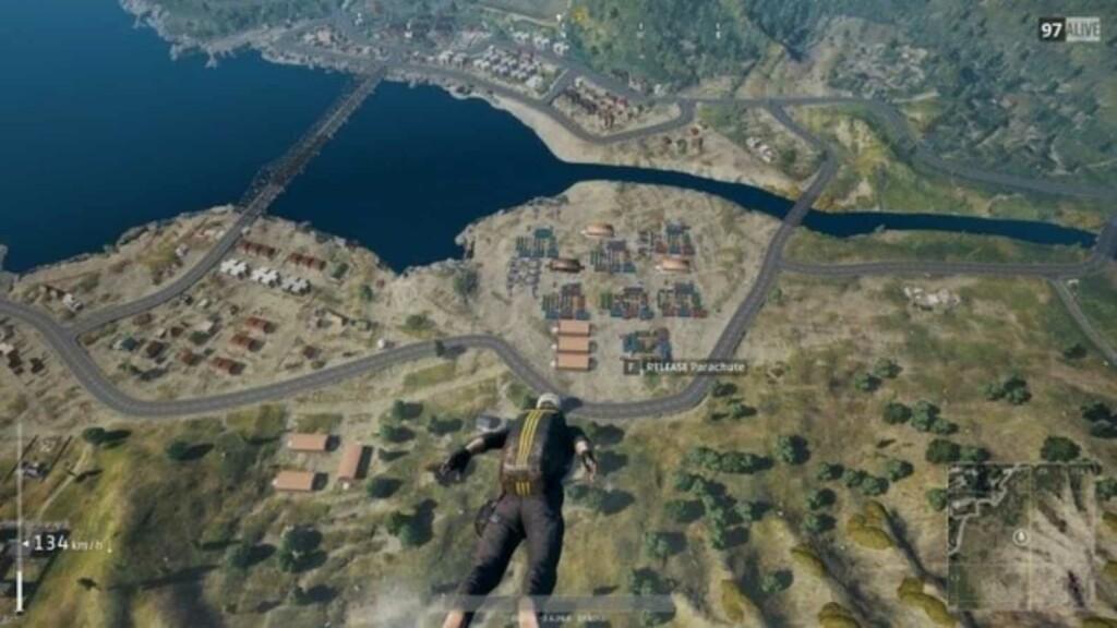 Top 5 places to find flare gun in Erangel map BGMI
