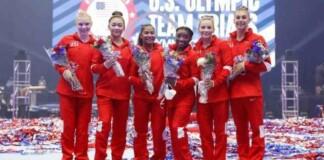 USA Women's Gymnastics Team going to Tokyo Olympics