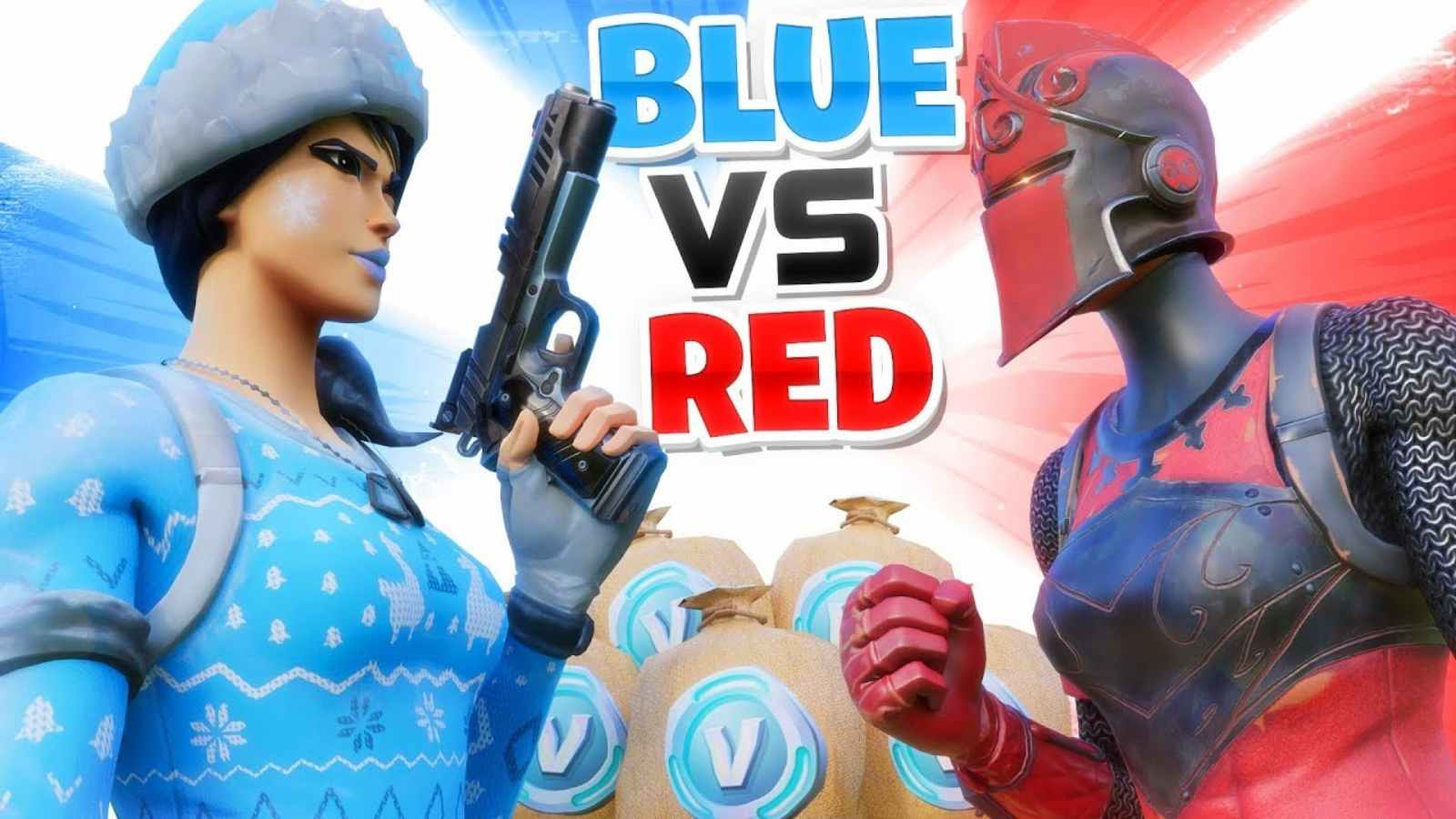 Fortnite Blitz Red vs Blue: Creative New Map and Gameplay