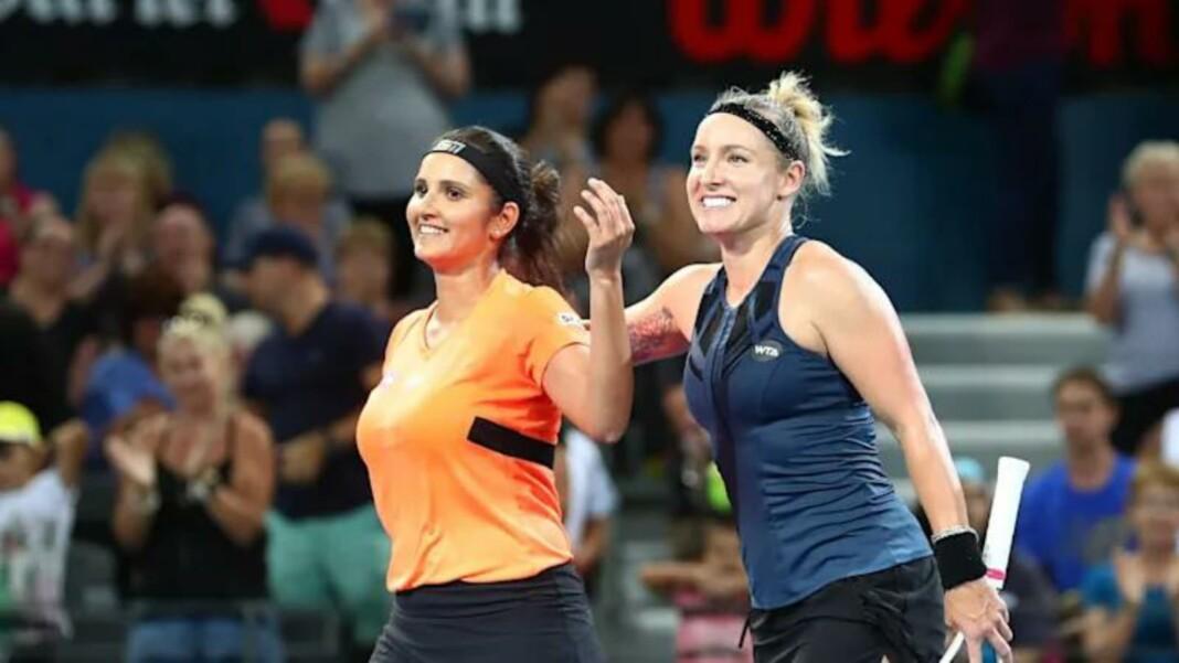Sania Mirza and Bethanie Mattek-Sands