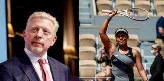 Boris Becker and Naomi Osaka