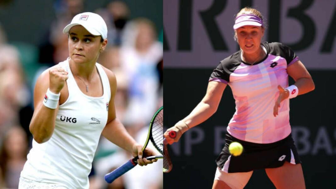 Ash Barty vs Anna Blinkova