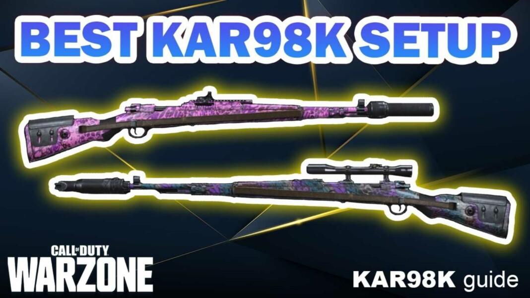 Best KAR 98K Warzone Loadout