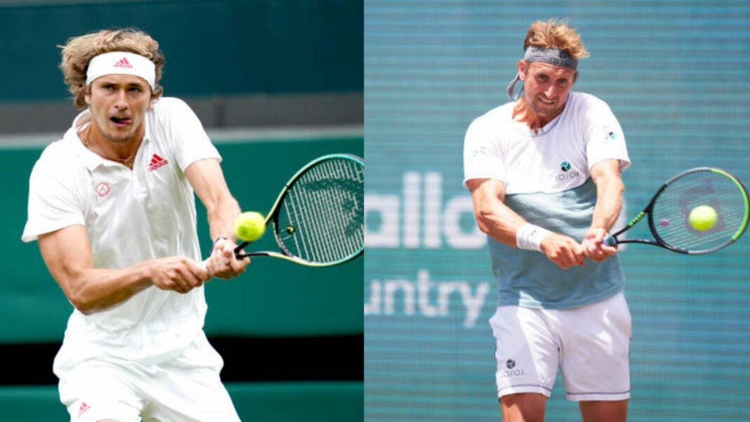 Alexander Zverev vs Tennys Sandgren