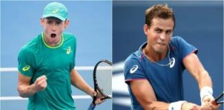 Alex de Minaur vs Vasek Pospisil will clash in the quarter-finals of the ATP Eastbourne 2021