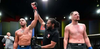 UFC Vegas 30 Alexander Volkov vs Ciryl Gane