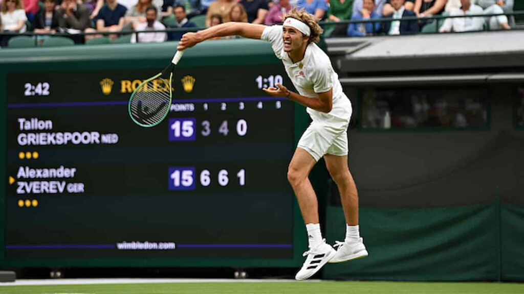 Alexander Zverev vs Felix Auger-Aliassime will clash in the 4th round of the Wimbledon 2021