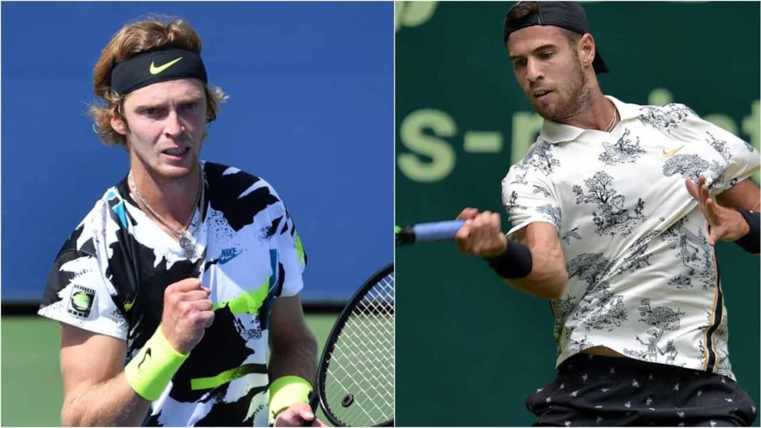 Andrey Rublev vs Karen Khachanov will clash in the ATP Halle 2021