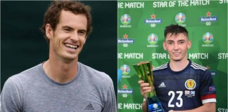 Andy Murray and Billy Glimour