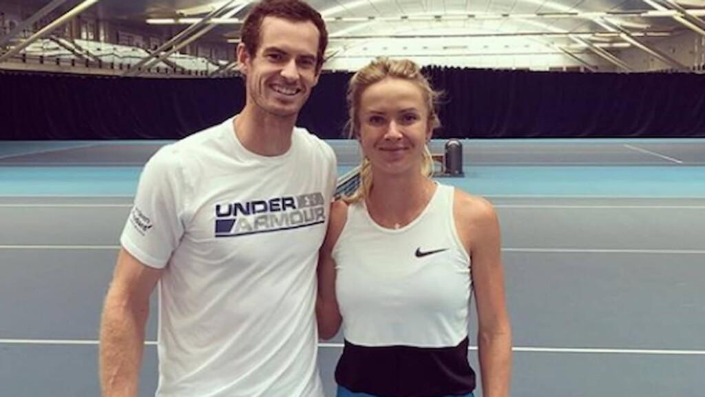 Andy Murray and Elina Svitolina
