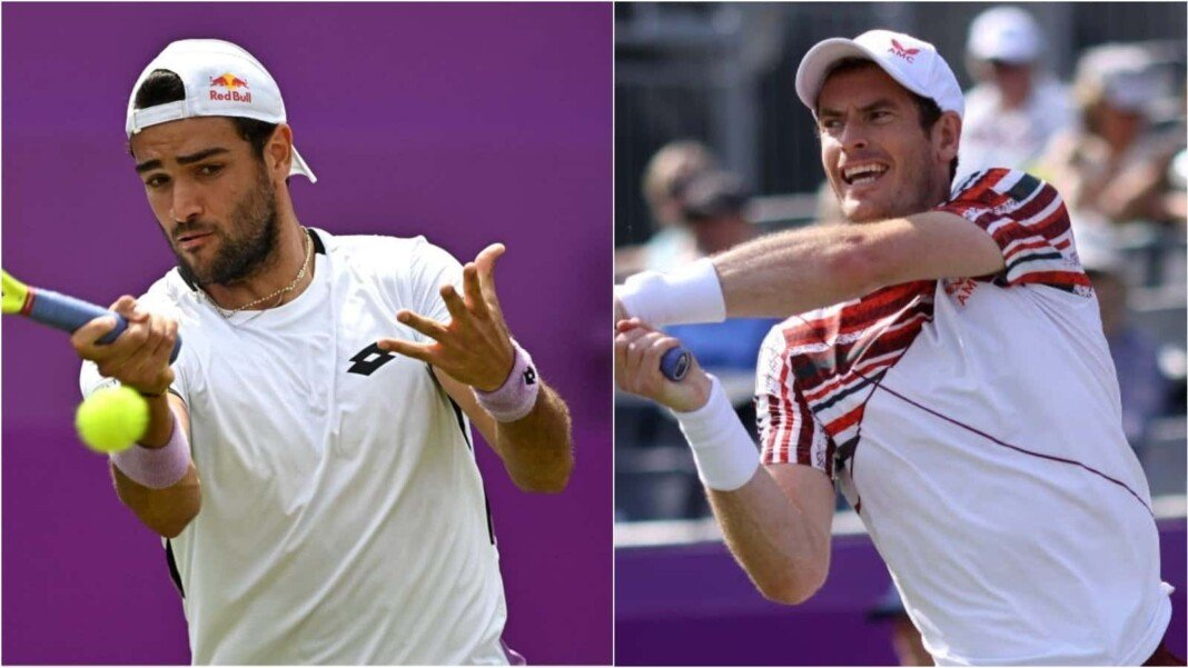 Andy Murray vs Matteo Berrettini will clash in the 2nd round of the Queen's Club 2021 Championships