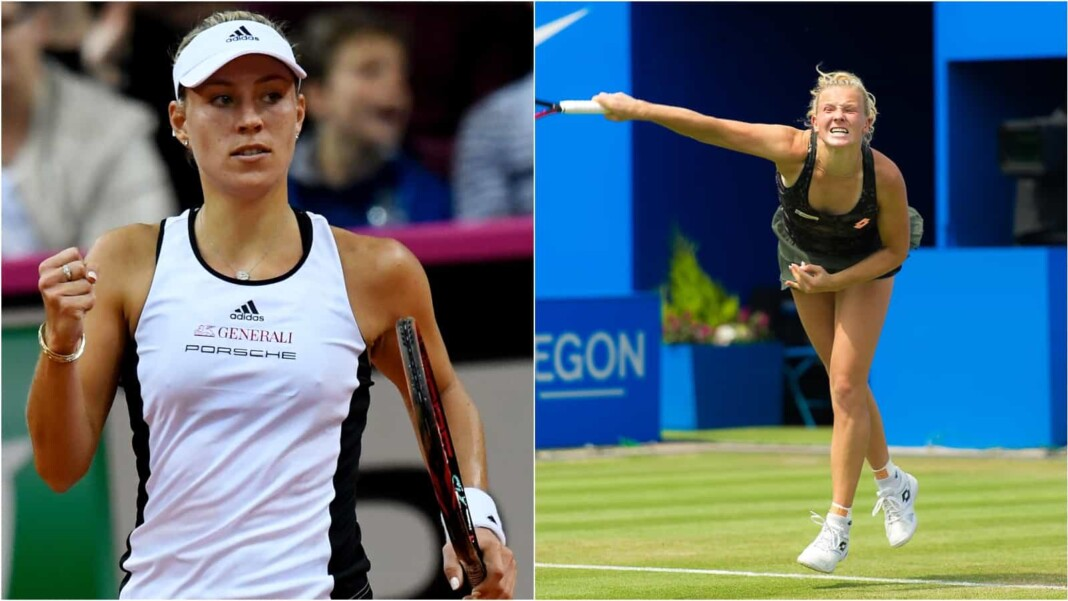 Angelique Kerber vs Katerina Siniakova will clash in the finals of the WTA Bad Homburg Open 2021