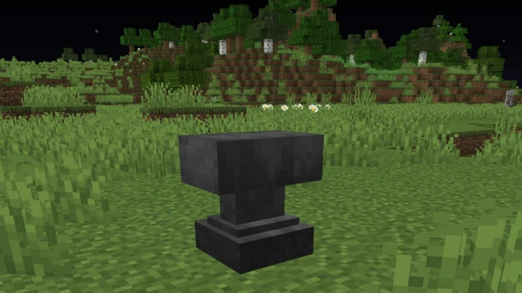 Anvil in Minecraft