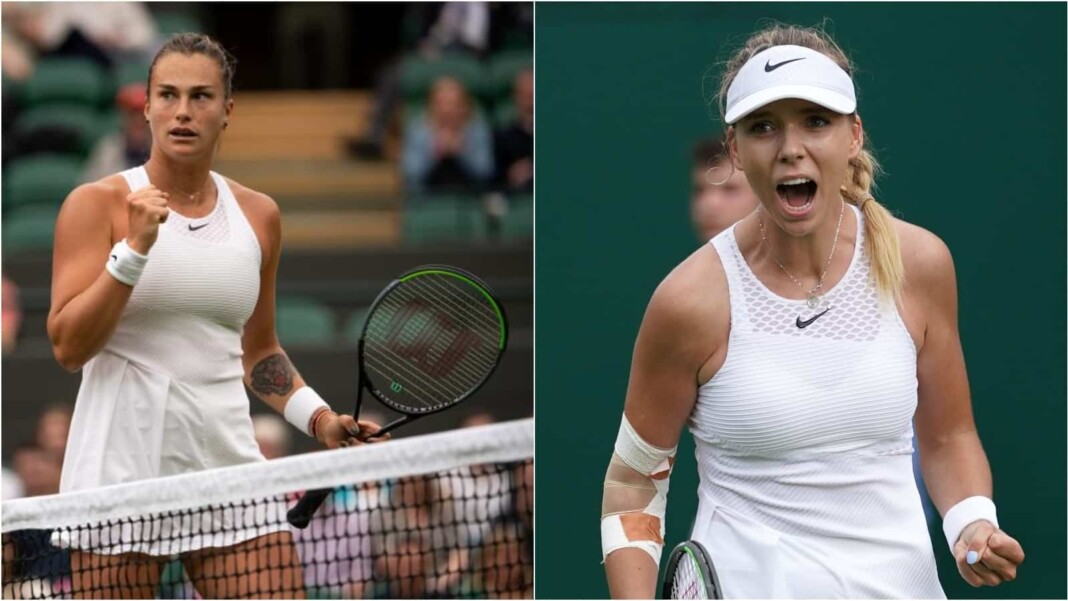 Aryna Sabalenka vs Katie Boulter will clash in the 2nd round of the Wimbledon 2021
