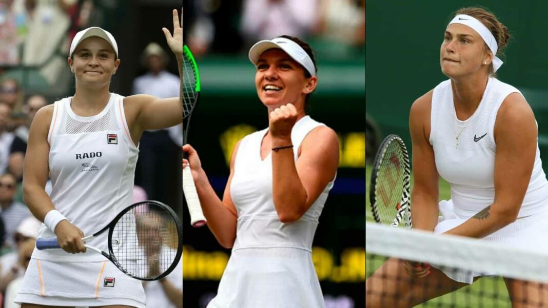 Ashleigh Barty, Simona Halep, Aryna Sabalenka top 3 seeds at the Wimbledon 2021