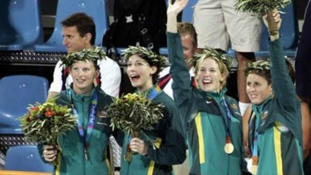 Australian team at Athens Olympics