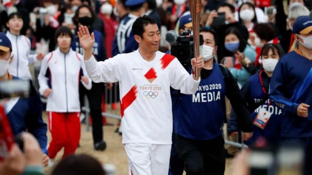 Tokyo Olympics 2020 torch holder