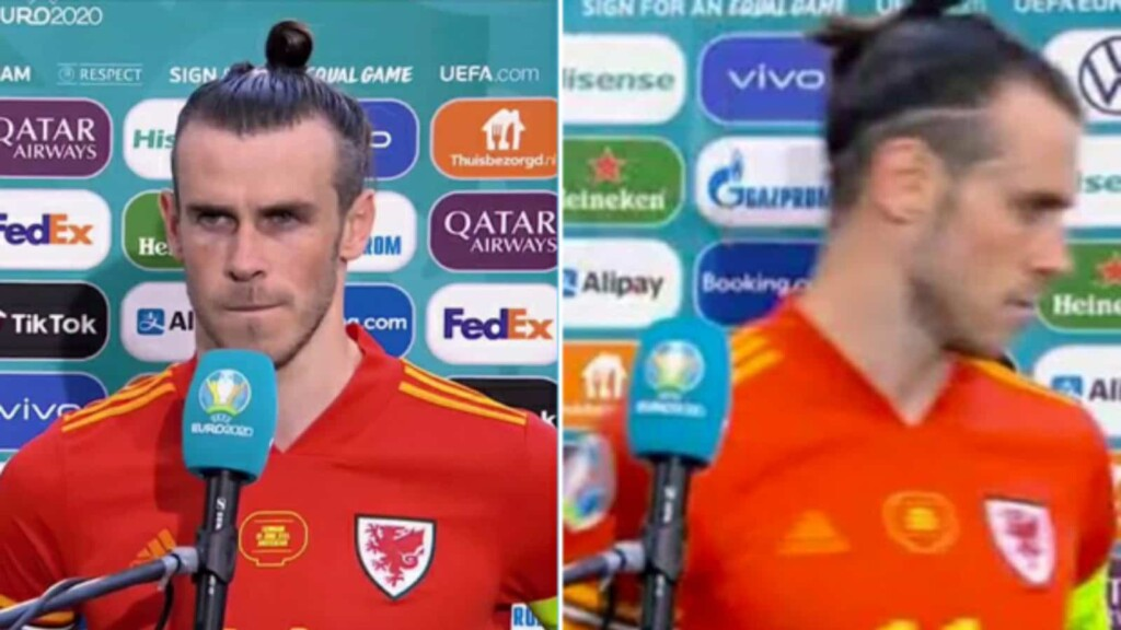 Bale walks off the interview