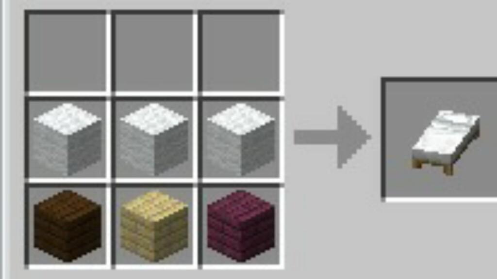 Bed in Minecraft