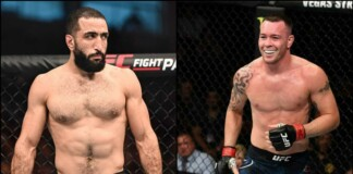 Belal Muhammad and Colby Covington