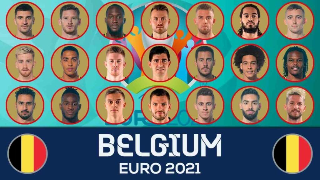EURO 2020 Belgium national football team