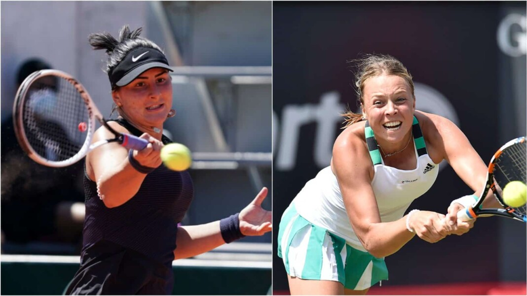 Bianca Andreescu vs Anett Kontaveit will clash in the 2nd round of the WTA Eastbourne 2021