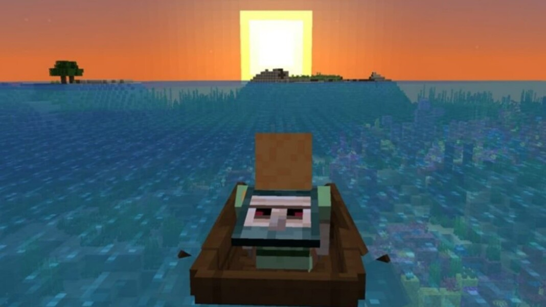 Boat in Minecraft