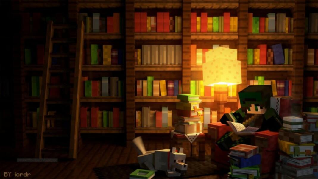 Book in Minecraft