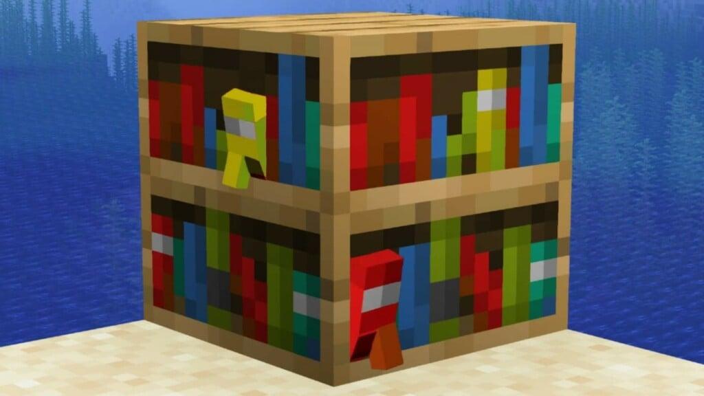 Bookshelf in Minecraft 2 - FirstSportz