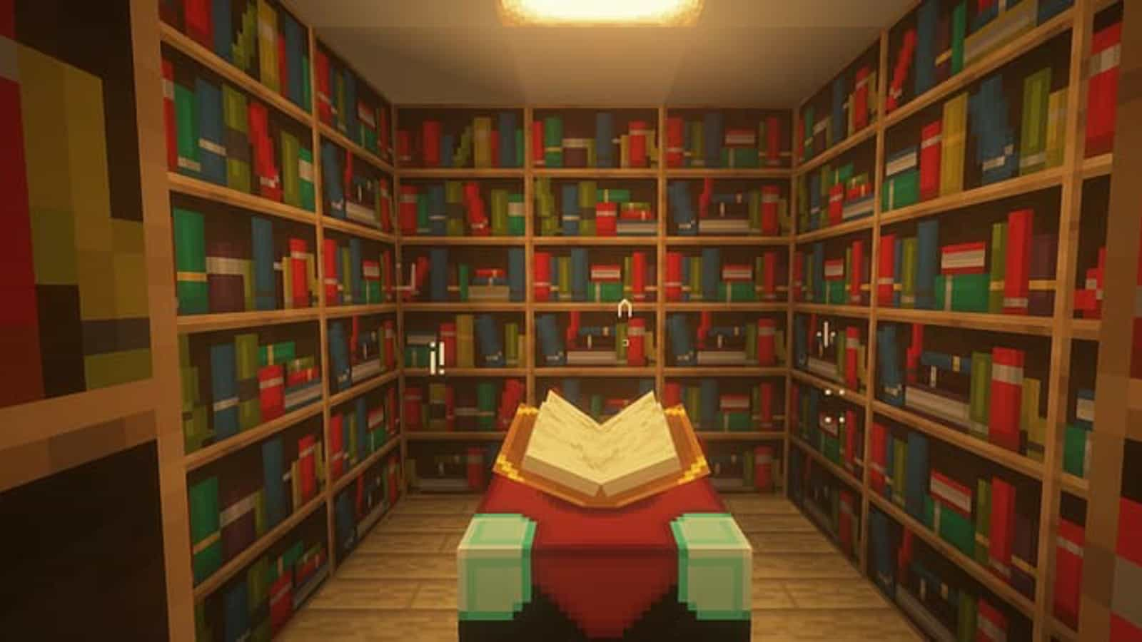 How to make a Bookshelf in Minecraft Materials, recipe and more »  FirstSportz