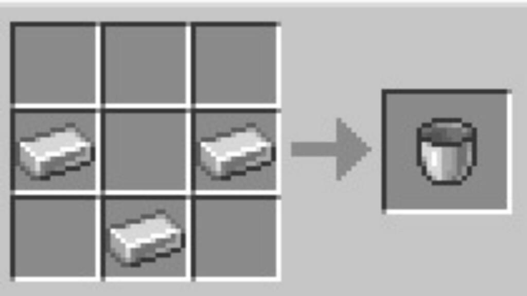 Bucket in Minecraft